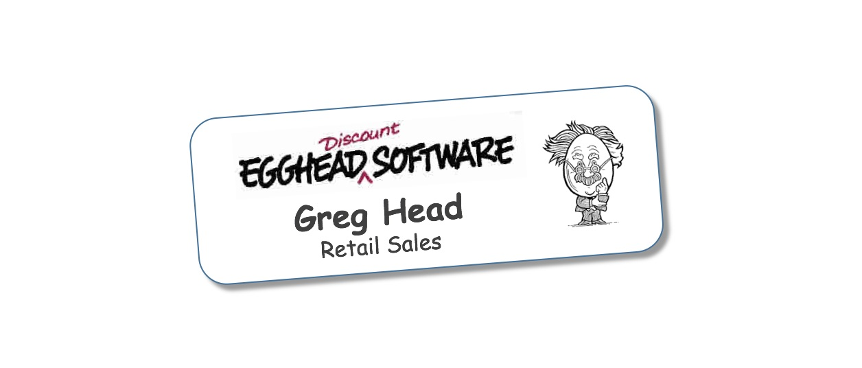 How I became Greg Head from Egghead